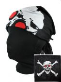 Skull and Crossbones Square Bandana